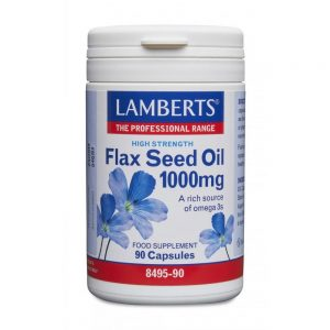 Lamberts Flax Seed Oil 1000mg