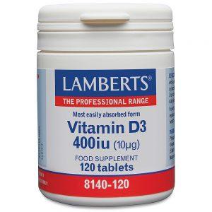 Lamberts Vitamin D 400iu (10µg)