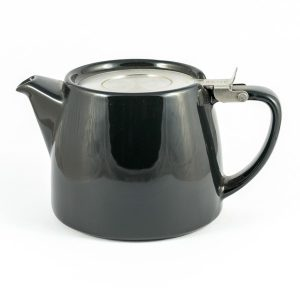 Suki Stump Teapot – Charcoal Black