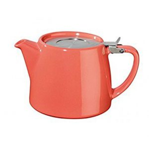 Suki Stump Teapot – Coral