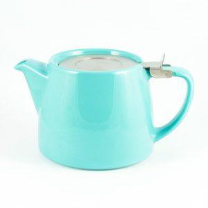 Suki Stump Teapot – Turquoise