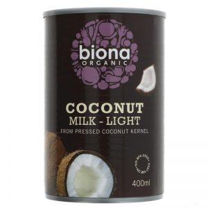 Coconut Milk Light 9% Fat