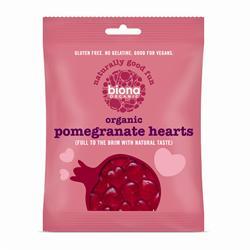 Vegan Pomegranate Hearts