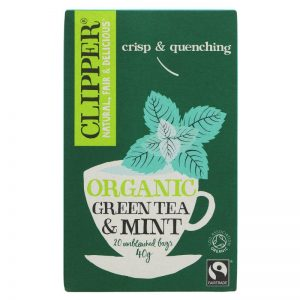 Clipper Organic Green Tea & Mint