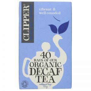 Clipper Organic Decaf Tea