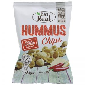 Eat Real Hummus Chips Chilli Cheese