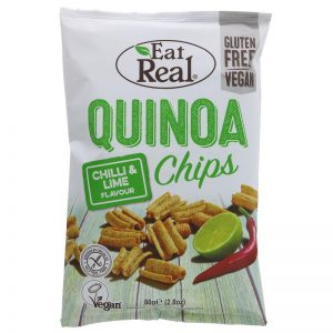 Eat Real Quinoa Chips Chilli & Lime