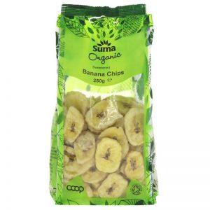 Organic Sweetened Banana Chips
