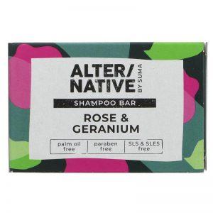 Rose & Geranium Shampoo Bar