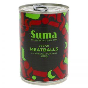 Suma Vegan meatballs