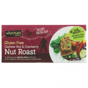Cashew Nut & Cranberry Nut Roast