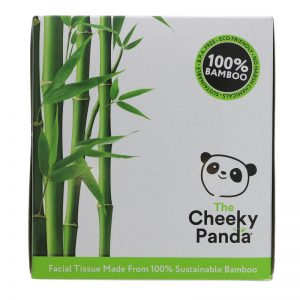 Bamboo facial tissues (cube)