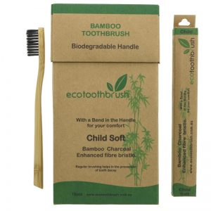 Bamboo toothbrush – child